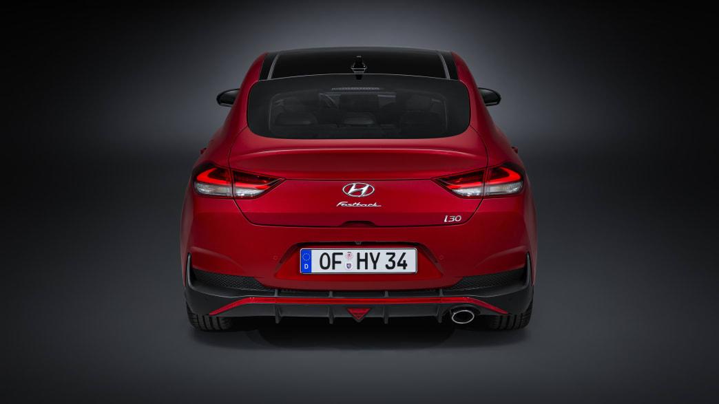 Hyundai i30 Fließheck von hinten