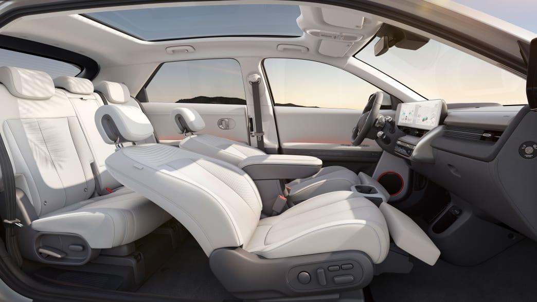 Innenraum des Hyundai Ioniq 5