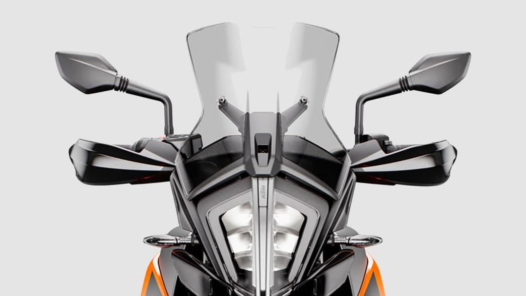 Windschild einer KTM 790 Adventure