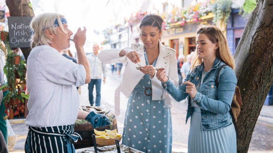Austern Festival in der Kulturhauptstadt Galway