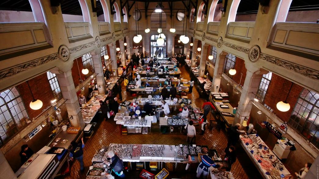 Fischmarkt in der Kulturhauptstadt Rijeka
