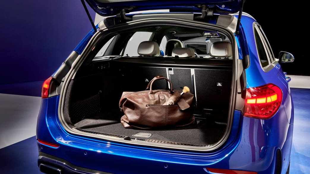 Kofferraum des Mercedes C-Klasse Kombi