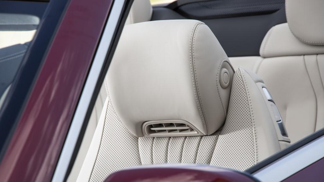 Mercedes E-Klasse Cabrio Kopfstütze mit Nackenheizung