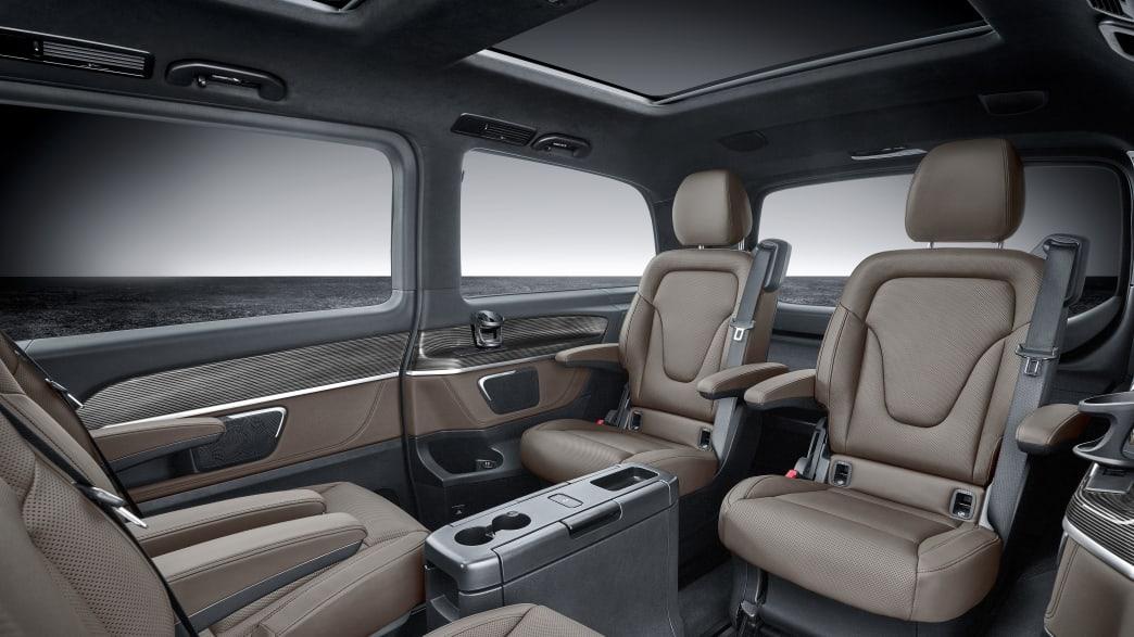 Mercedes EQV: Testfahrt in der Elektro-V-Klasse | ADAC