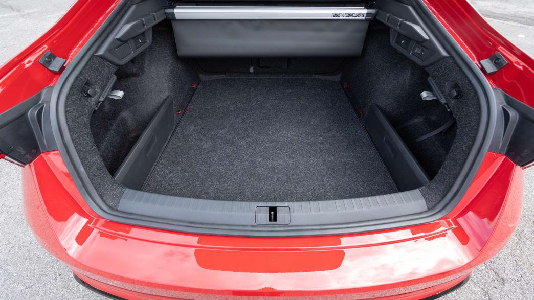 Der Kofferraum des neuen Skoda Octavia Kombi  Modell 2019 2020
