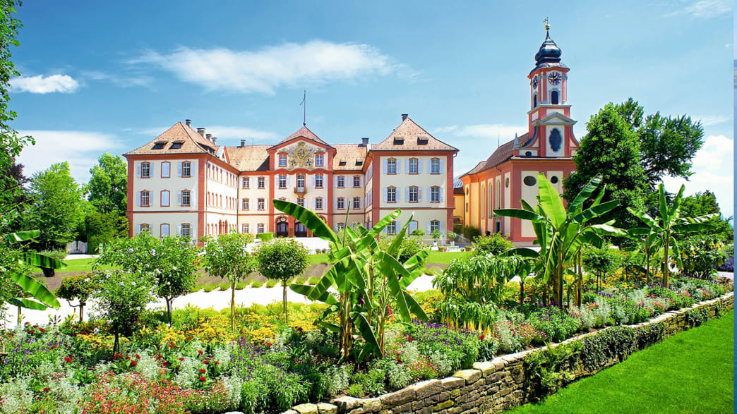 Schloss auf der Insel Mainau