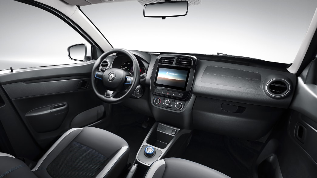 Cockpit des Renault City K-ZE