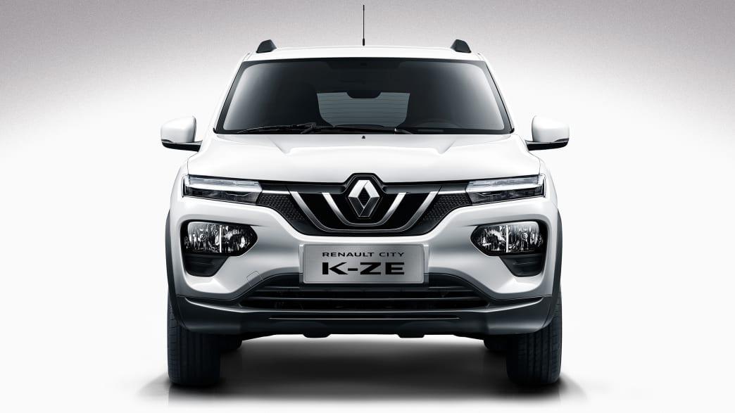Front des Renault City K-ZE stehend