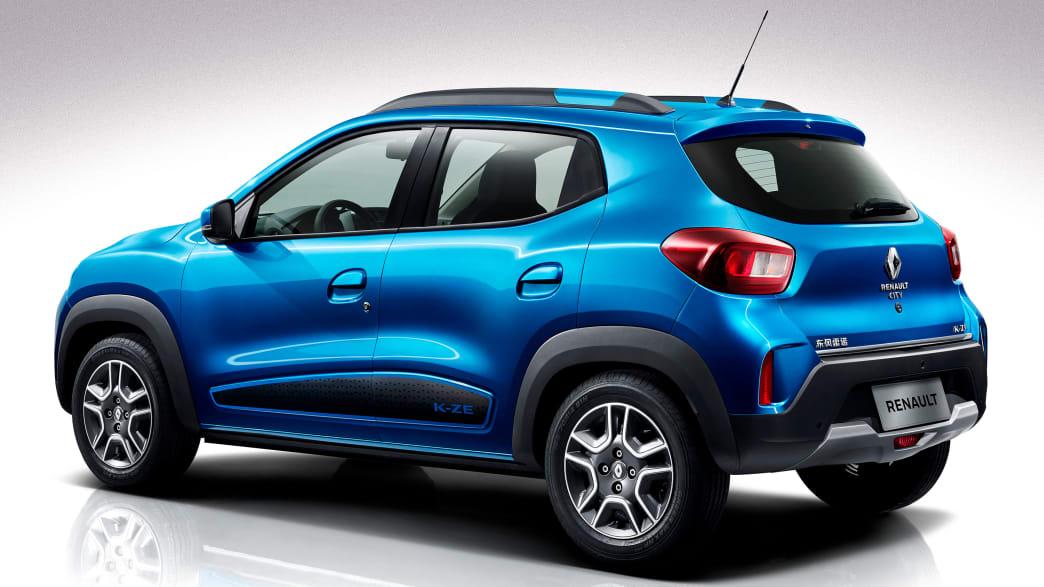 Heck und Seite des Renault City K-ZE