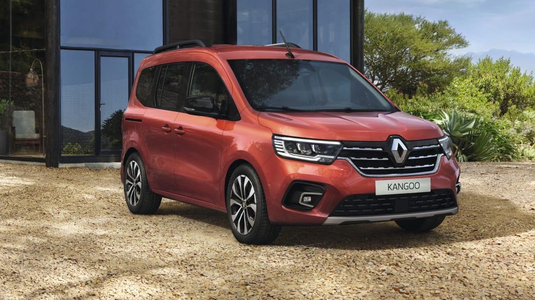 Renault Kangoo stehend von der Seite