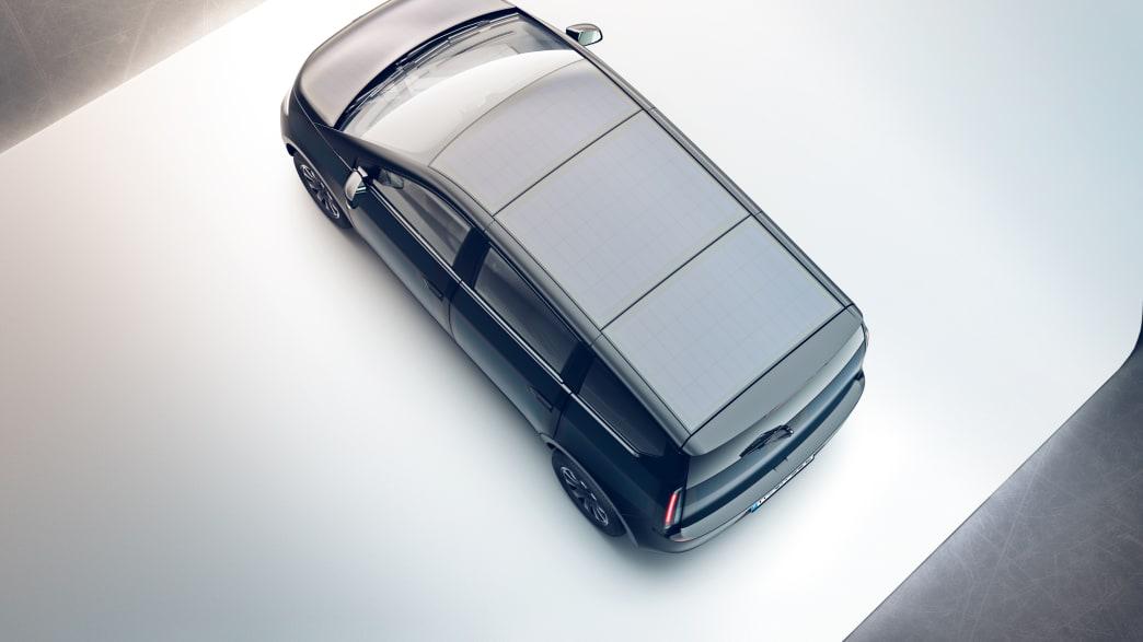Luftaufnahme des Dachs des Sono Motors Sion