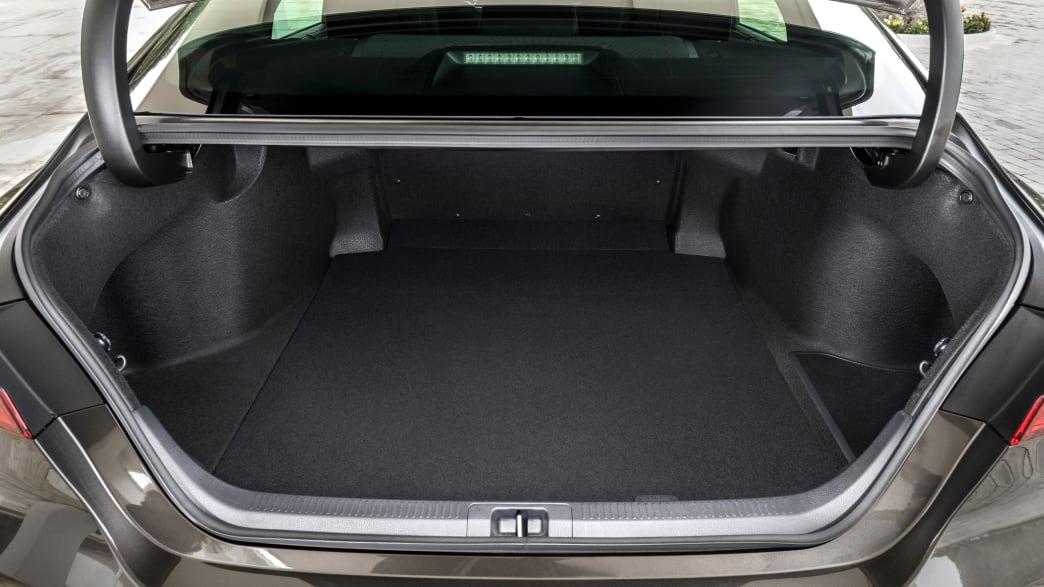 Der Kofferraum des Toyota Camry