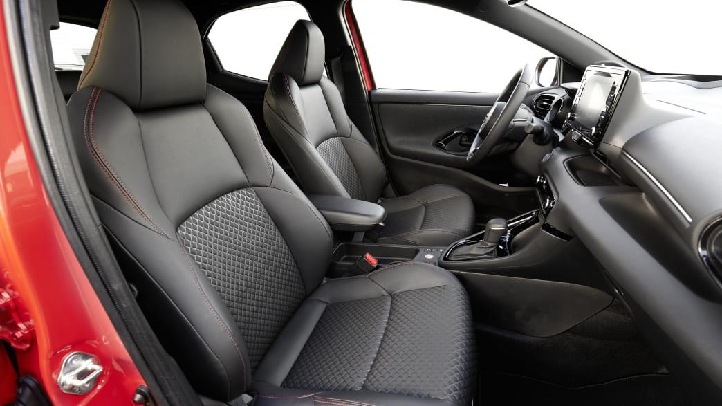 Innenraum des Toyota Yaris