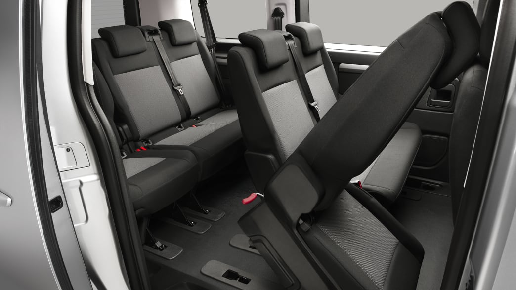 Hintere Sitze vom Citroen Spacetourer.
