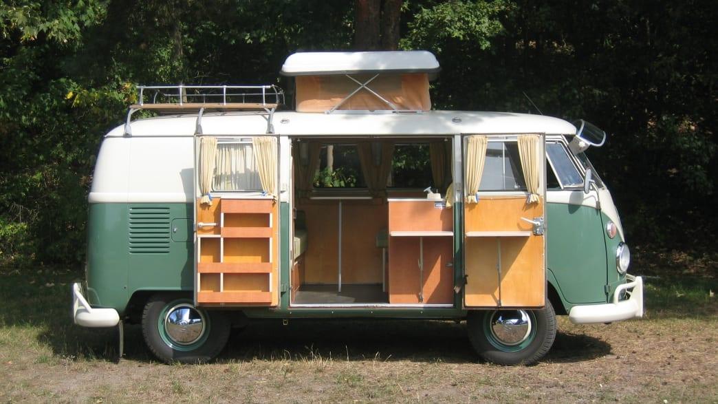 VW T1 mit Aufstelldach