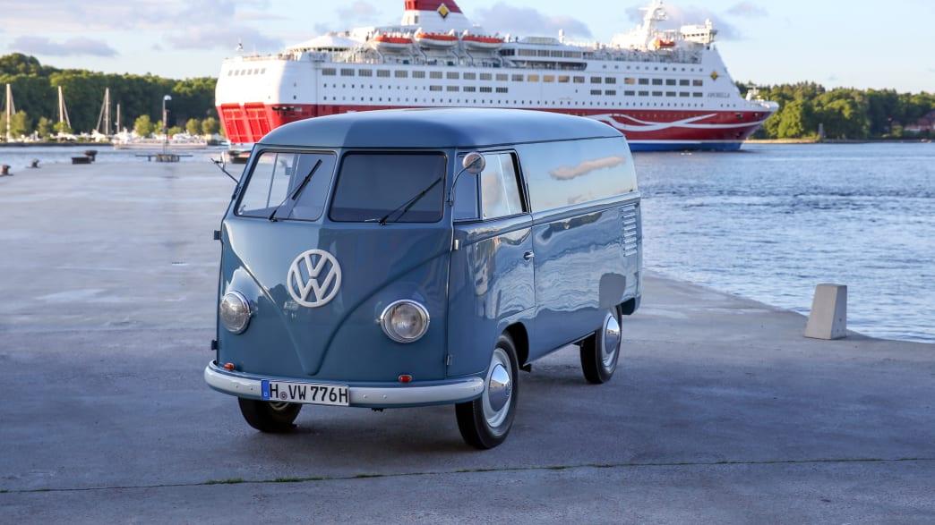 VW T1 in blau