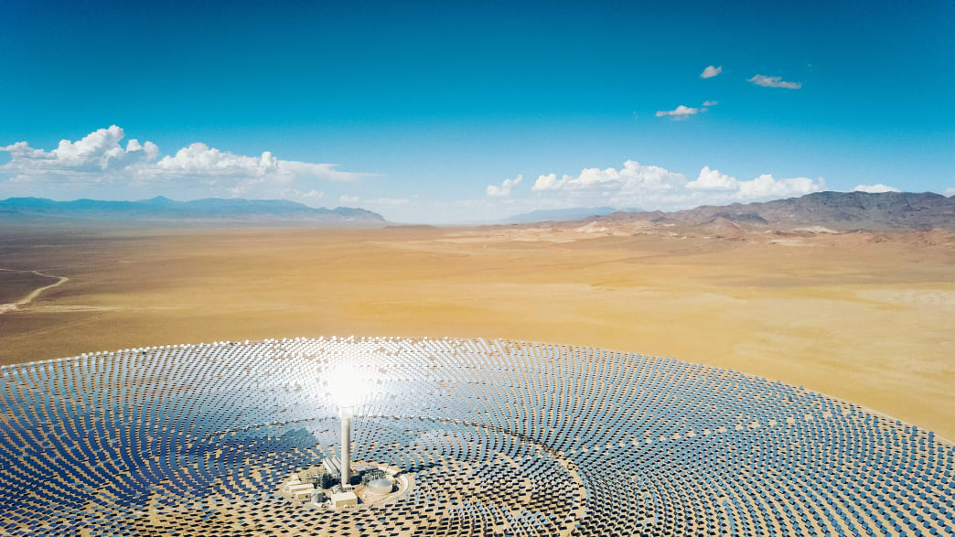 Alternative Energiegewinnung durch Solarparks