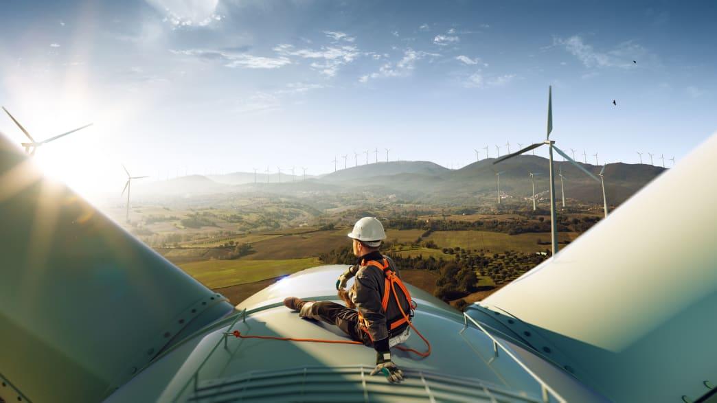 Alternative Energiegewinnung durch Windkraft