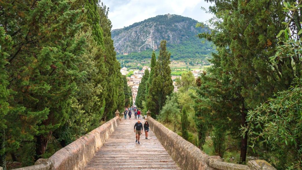 Die Treppe Carrer Del Calvari