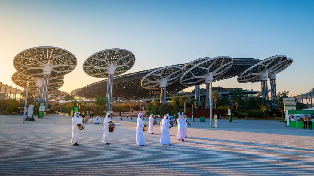 Energiegewinnung in Dubai durch Sonnenkollektoren