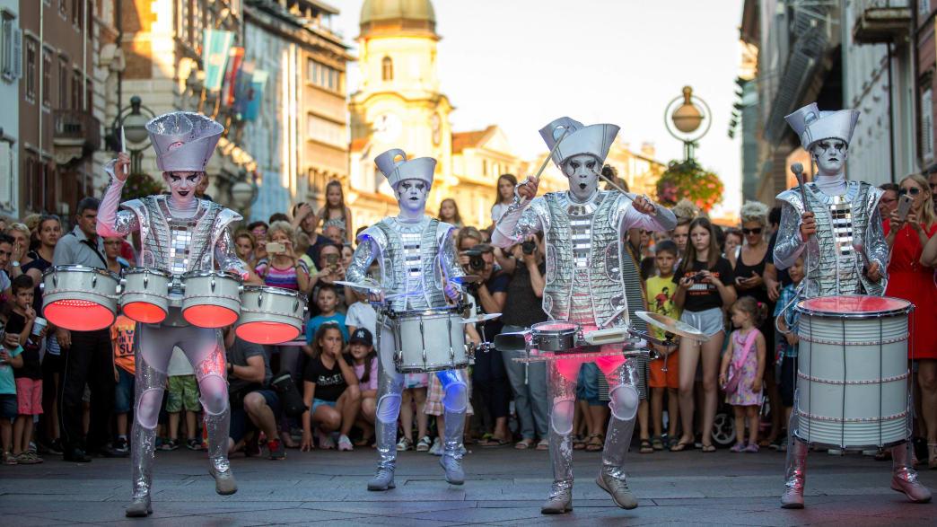 Karneval in der Kulturhauptstadt Rijeka