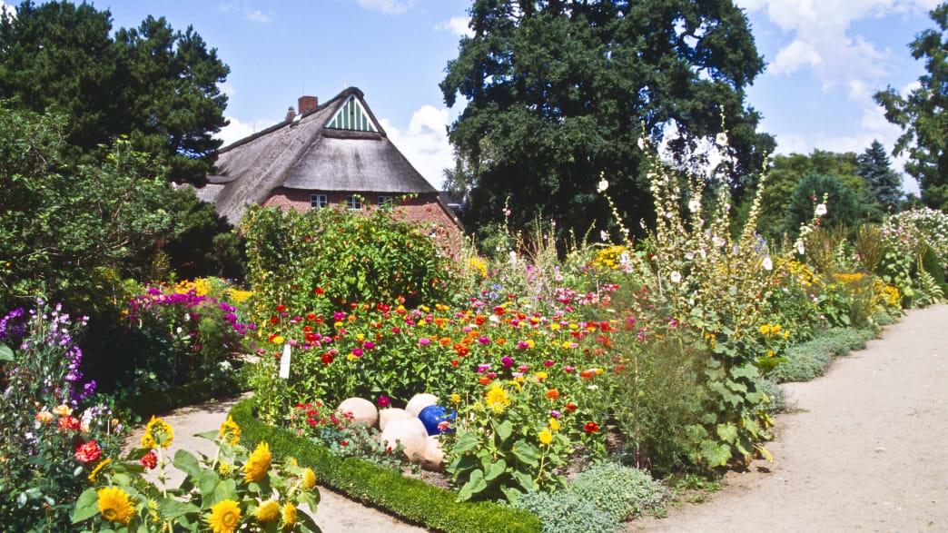 Bauerngarten im Arboretum Ellerhoop
