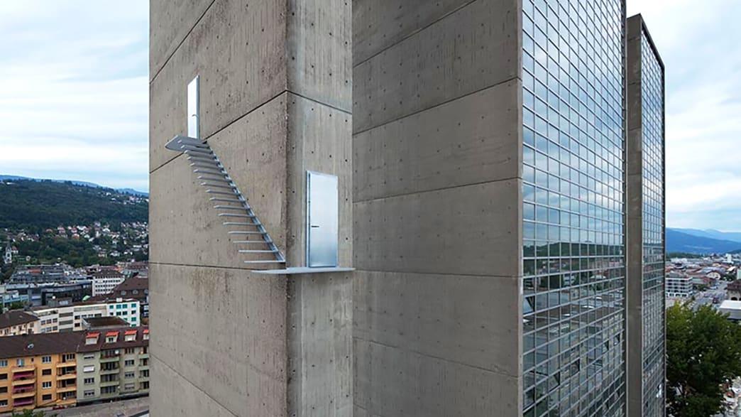 Treppe am Bieler Kongresshaus