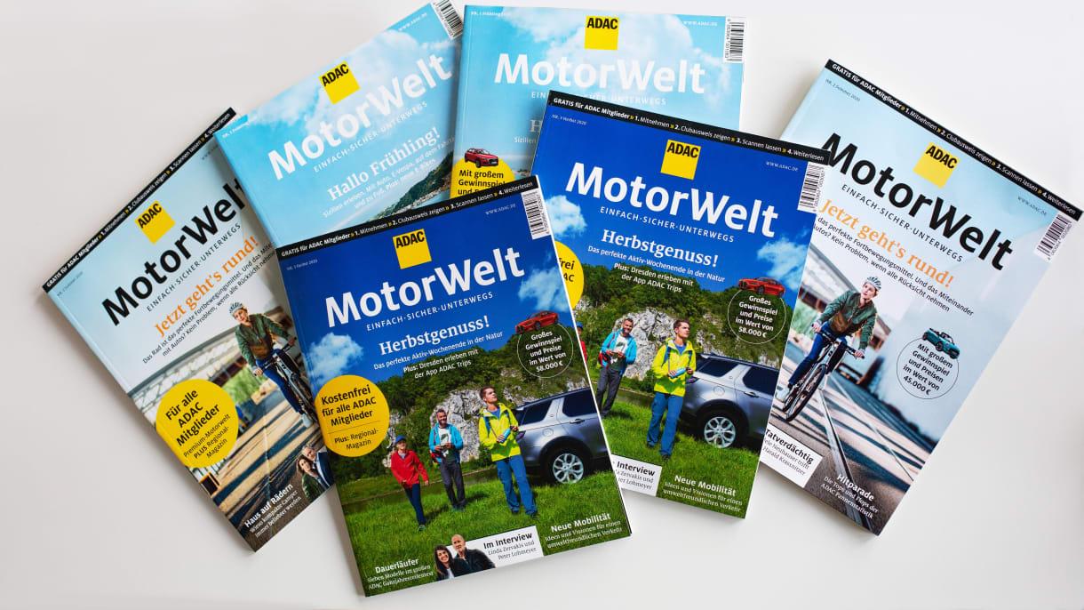 ADAC Motorwelt Premium Cover Herbstausgabe
