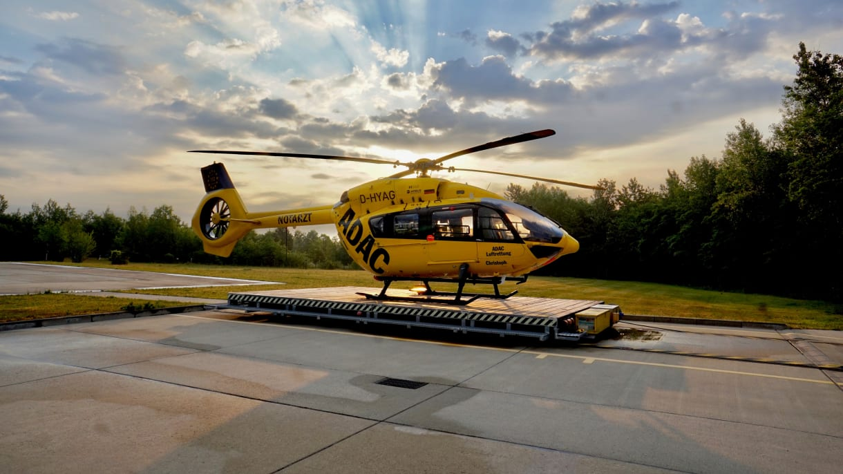 ADAC Luftrettung Hubschrauber
