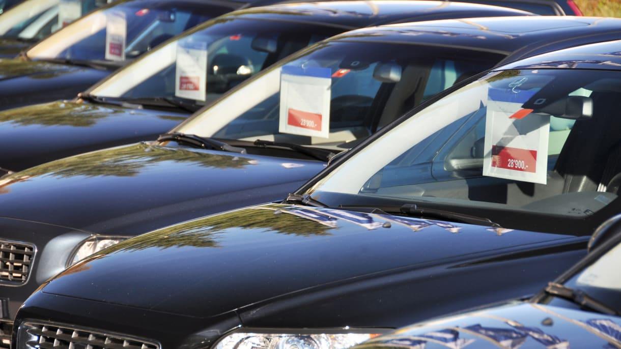 Gebrauchtwagen zum Verkauf