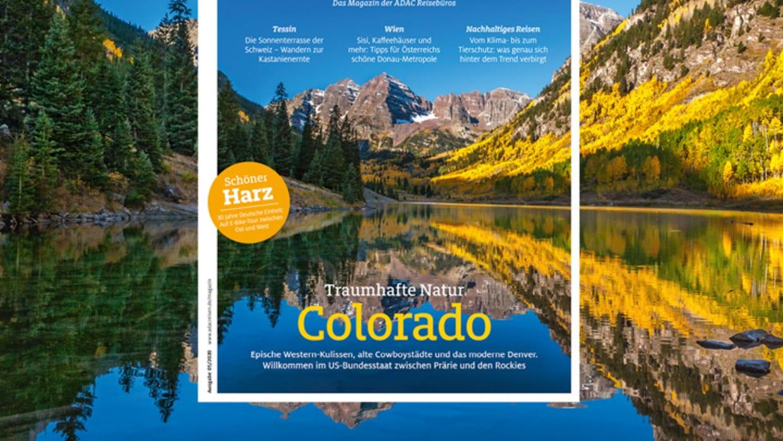 ADAC Urlaub Aktuelle Ausgabe: Traumhafte Natur in Colorado