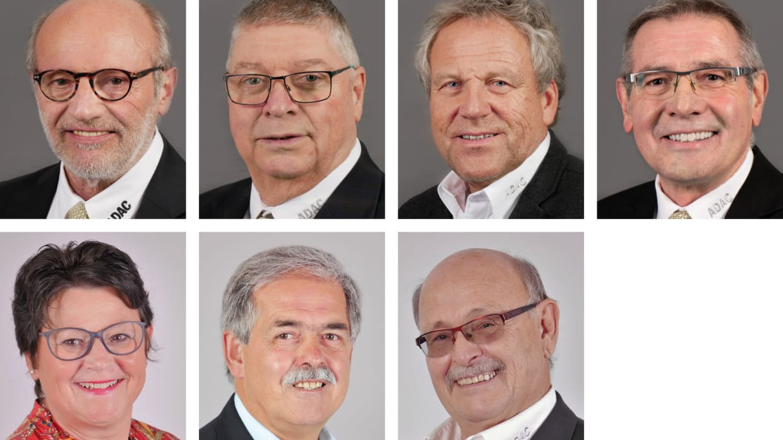 Vorstand ADAC Saarland e.V. - Heinz-Pukallus-Krisam-Jenal-Scheer-Ganster-Hoffmann