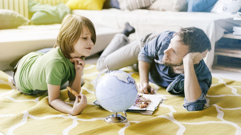 ADAC Auslandskrankenschutzversicherung - Vater und Sohn