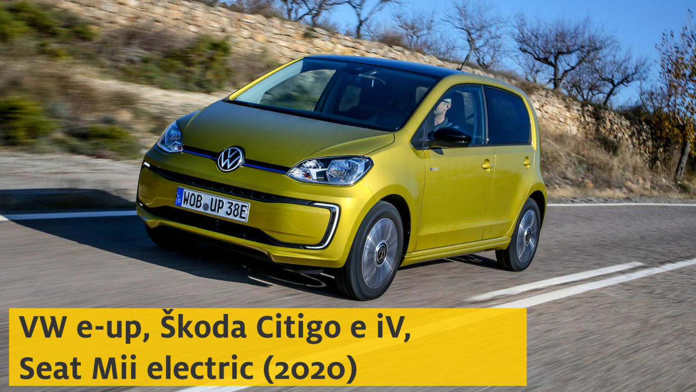 Youtube Vorschaubild VW E-Up Seat Mii Electric Skoda Citigo e