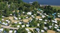 """Der Campingplatz """"Komfortcamping Senftenberger See"""" gehört zu den 10 beliebtesten Campingplätzen in Brandenburg"""
