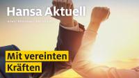 Titelseite mit Überschrift Hansa aktuell Ausgabe 1 2021