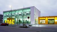 Außenansicht der ADAC Nordbaden Geschäftsstelle in Pforzheim