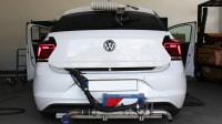 VW Polo beim PEMS Test