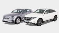 Vergleichstest Audi E-Tron Mercedes EQC