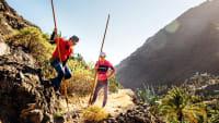 Wanderer auf La Gomera