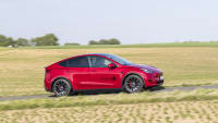 Testfahrt des neuen Tesla Model Y