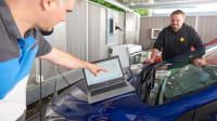 Testdurchführung des Wallboxen Lastmanagement im Carport Landsberg