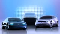 Rendering von 3 Concept-Cars von Hyundai