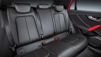 Rückbank des Audi Q2