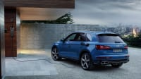 Audi Q5 an Ladestation