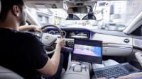 autonomer Mercedes im Test