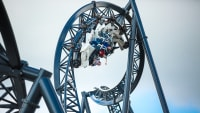Star-Trek-Coaster im Movie Park Germany