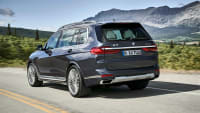 die Heckansicht des BMW X7 Models von 2018