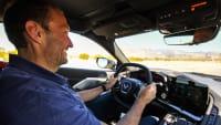 Autor Thomas Geiger fährt die neue Chevrolet Corvette