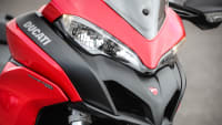 der Schnabel der Ducati Multistrada 950